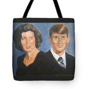 Bryan And Gina Tote Bag