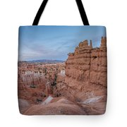 Bryce Amphitheater Fisheye View Tote Bag