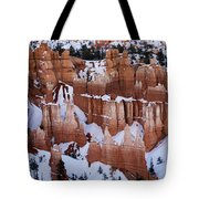 Bryce Canyon In Winter 2 Tote Bag