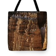 Bryce Canyon National Park Hoodo Monoliths Sunset From Sunrise P Tote Bag