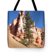 Bryce Canyon Red Fins Tote Bag