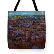 A Panorama Bryce Canyon Sunrise Tote Bag