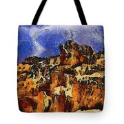 Bryce Canyon Thuderstorm Tote Bag