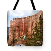 Bryce Curved Formation Wall Tote Bag