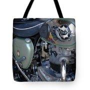 Bsa Motorcycle Tote Bag