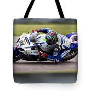 Bsb Superbike Rider John Hopkins Tote Bag