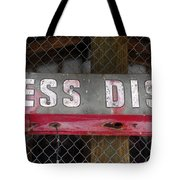 B District Tote Bag by David Lee Thompson