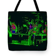 Bto And Colors Fly In Spokane 1976 Tote Bag