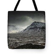 Buachialle Etive Mor Winter Mood Tote Bag