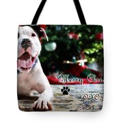 Bubba's First Christmas Tote Bag