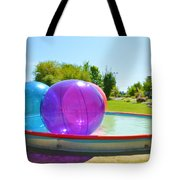 Bubble Ball 2 Tote Bag