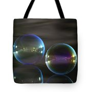 Bubble Bubble On The Water Tote Bag
