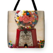 Bubble Gum Machine Tote Bag
