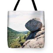 Bubble Rock Acadia National Park Maine Tote Bag
