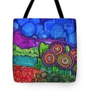Bubble Sky Tote Bag
