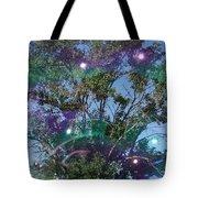 Bubble Tree Tote Bag