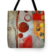 Bubble Tree - Ls55 Tote Bag by Variance Collections
