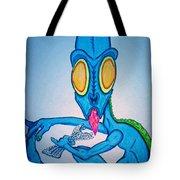 Bubble Wrap Monster Tote Bag