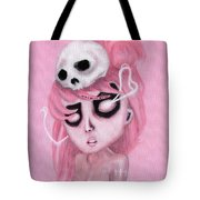 Bubblegum Pink Tote Bag
