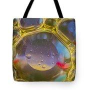 Bubbles Background Tote Bag