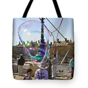 Bubbles Big Ben Tote Bag