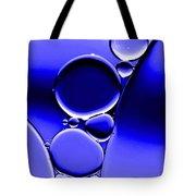 Bubbles In Blue Tote Bag