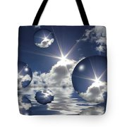 Bubbles In The Sun Tote Bag