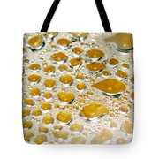 Bubbles Of Steam Amber Tote Bag
