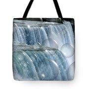 Bubbles Over Niagara Falls Tote Bag