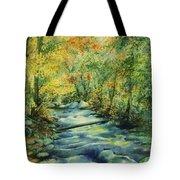 Bubbling Brook Tote Bag