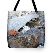 Bubbling Rock Tote Bag