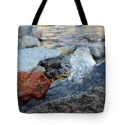 Bubbling Rocks Tote Bag