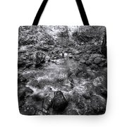 Bubbling Water Brook In The Smokies Tote Bag