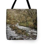 Bubbling Water Tote Bag