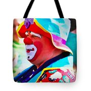 Bubby The Clown Tote Bag