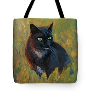 Bubu In The Sunset Tote Bag