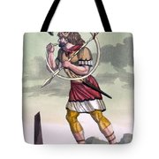 Buccinatore, Military Horn-blower Tote Bag
