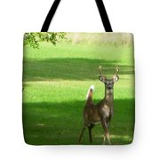 Buck And Doe Tote Bag
