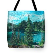 Buck Lake Tote Bag