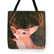 Buck Portrait Tote Bag