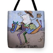 Buck Tooth Tote Bag