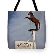 Buckaroo's Saloon Tote Bag