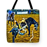 Bucked Off Proper Tote Bag