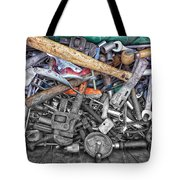 Bucket Of Tools Sc Tote Bag