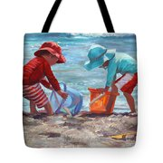 Buckets Of Fun Tote Bag