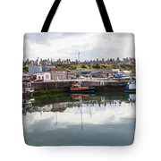 Buckie Harbour Tote Bag