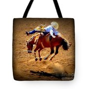 Bucking Broncos Rodeo Time Tote Bag