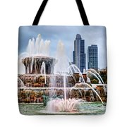Buckingham Fountain #1 Tote Bag
