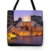 Buckingham Fountain, Chicago, Illinois Tote Bag