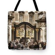 Buckingham Palace Gates Tote Bag